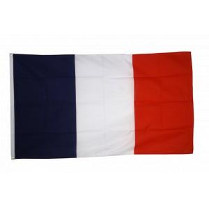 Grand drapeau FRANCE 150x250 cm résistant aux intempéries